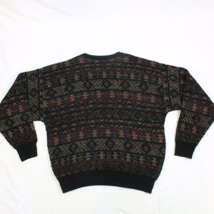 VTG Jantzen Crewneck XL Sweater Cable Knit MADE IN